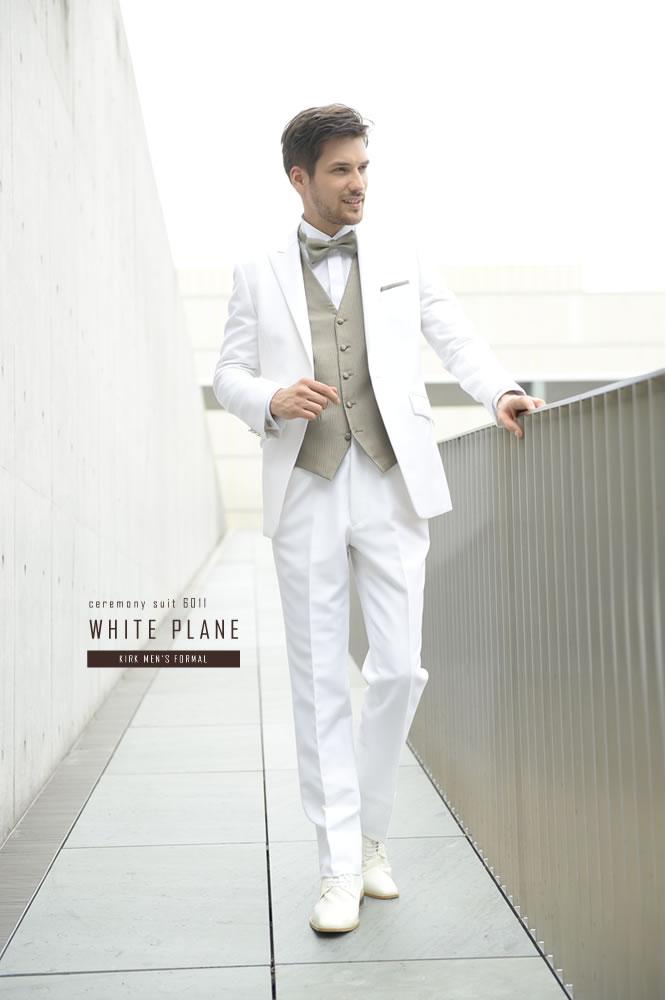 ベリーショートジャケットの白 ...